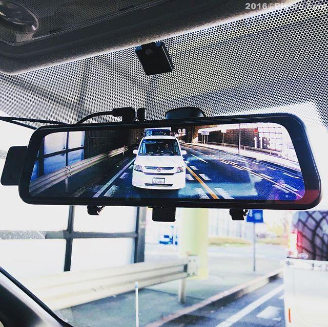 ドライブレコーダーを新規に購入。ドラレコもそうだけど更に後方を見やすくルームミラー型にしました。デジタルとなりかなり見やすくなりました。車内にどんだけ荷物積んでもちゃんと見えます。久々にみんカラに投稿しようかな?